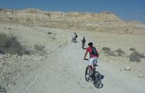 טיול אופניים בנחל צין לנערים ונערות